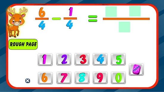 Fraction Subtraction- screenshot thumbnail