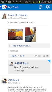 Yammer - screenshot thumbnail