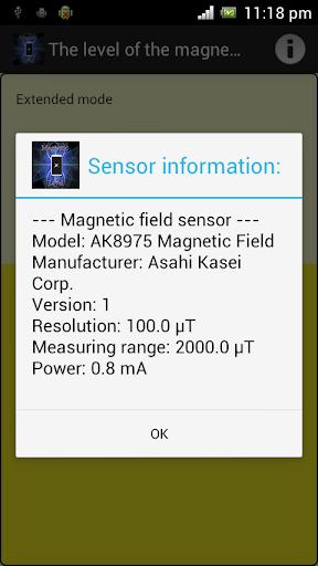 Level of EMR Magnetometer