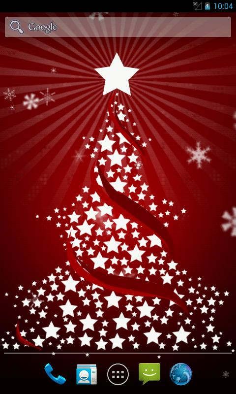 christmas tree live wallpaper screenshot - Live Christmas Trees For Sale