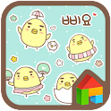 Sticker dodol launcher theme