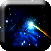 Star in Galaxy Live Wallpaper