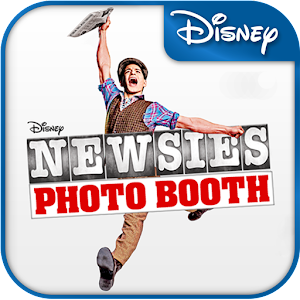 Newsies Photo Booth Icon