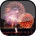 Christmas Fireworks LWP icon
