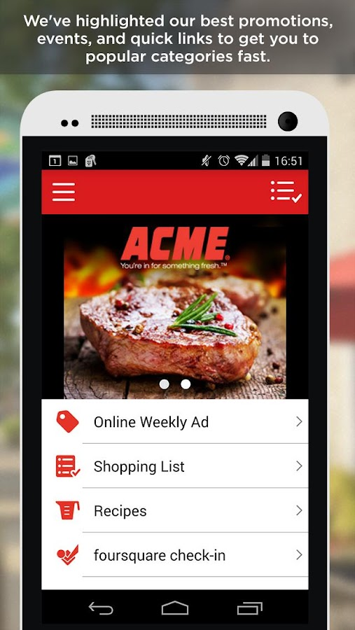ACME Markets - screenshot