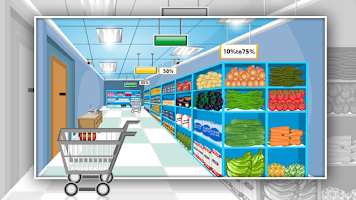 Screenshot of Super Market Escape