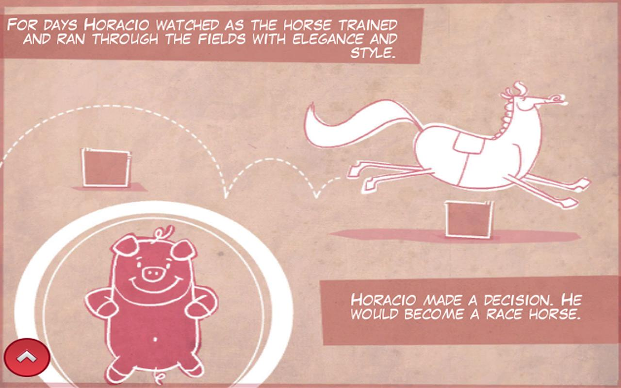 Horacio the Piglet - Lite- screenshot