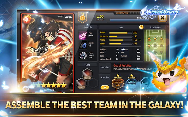 android Soccer Spirits Screenshot 3