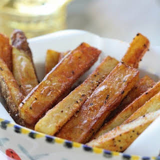 Homemade Cajun French Fries.