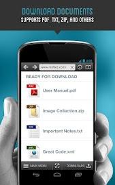 Downloader & Private Browser Screenshot 10