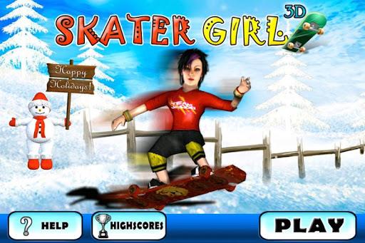 Skater Girl Fun 3D Game