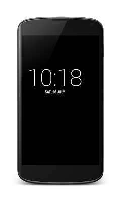 Fullscreen Clock - screenshot