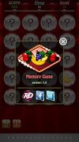 Screenshot of Fruit Memory Game