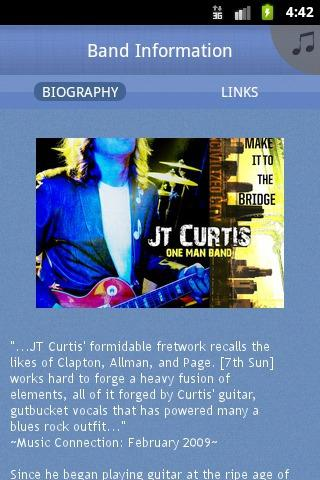 JT Curtis: One Man Band - screenshot