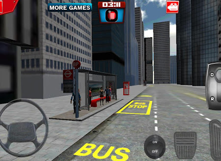 London City Bus Driving 3D 1.0 screenshot 641737