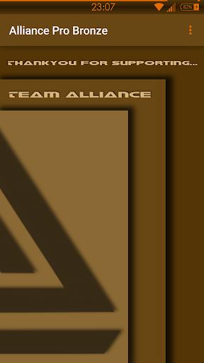 Alliance Pro Bronze Note 3