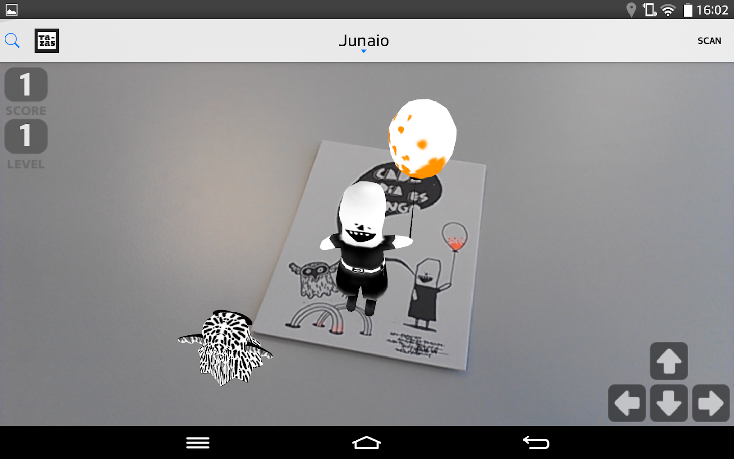 Junaio Augmented Reality- screenshot