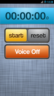 Voice Activated Stopwatch