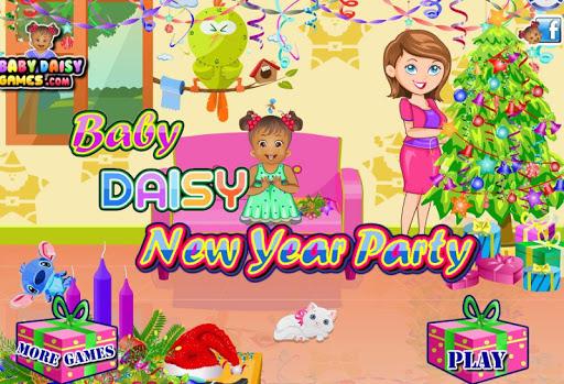 Baby Daisy New Year Party 1.2.0 screenshots 1