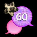 GO SMS - Leopard Star Sky 3