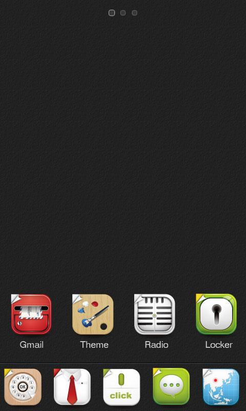 X-Until GO Launcher Theme - screenshot