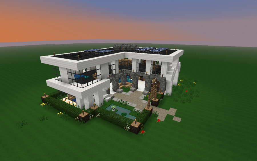 wp mcpe modern house google play store revenue download mcpe simple modern house