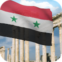 3d Syria Flag with Anthem LW icon