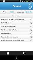 Screenshot of Sunares Updates