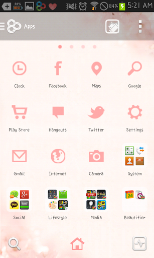 玩個人化App|Cherry blossom go launcher免費|APP試玩