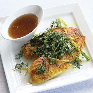 Vietnamese Tilapia with Turmeric & Dill