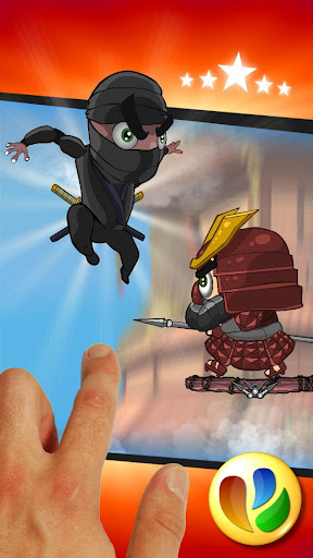 Angry Ninjas Jump Game 怒っている忍者