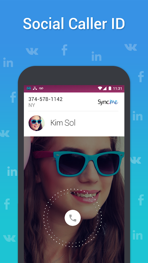 Sync.ME - Caller ID & Block - screenshot