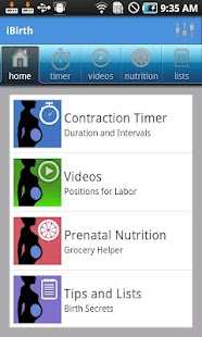 iBirth Pregnancy App - screenshot thumbnail
