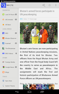 BHUTANews: News from Bhutan- screenshot thumbnail