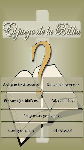 El juego de la biblia