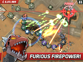 Screenshot of Colossatron