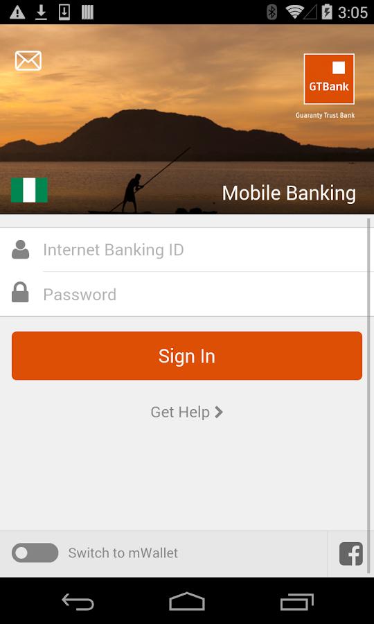 GTBank - screenshot