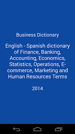 Business Dictionary Lite En Es