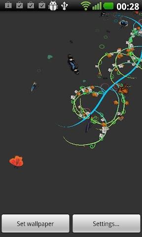 Screenshots for Jungle of Flowers LWP