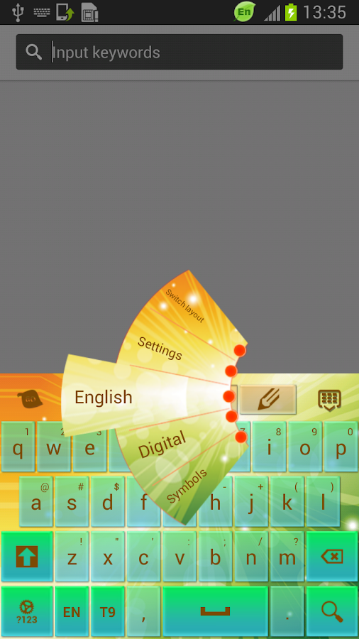 New Free Keyboard for Phone - screenshot