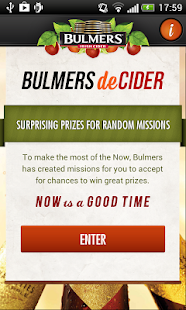 Bulmers deCider - screenshot thumbnail