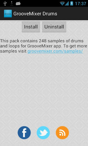 【免費音樂App】GrooveMixer Drum Samples-APP點子