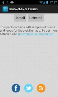 GrooveMixer Drum Samples