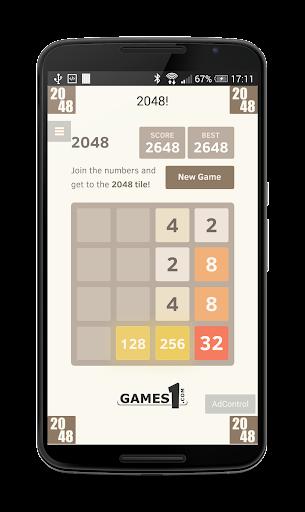 《2048》是一款单人在线和移动端游戏,由19岁的意大利人