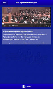 Fort Myers Mastersingers- screenshot thumbnail