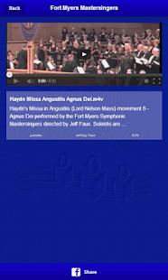 Fort Myers Mastersingers - screenshot thumbnail