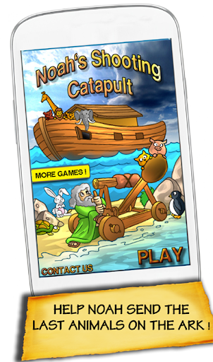 Noah Shooting Catapult Deluxe