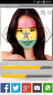 Paint your face Ghana