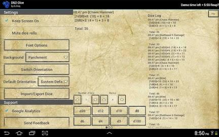 D&D Dice by b.freq Screenshot 4