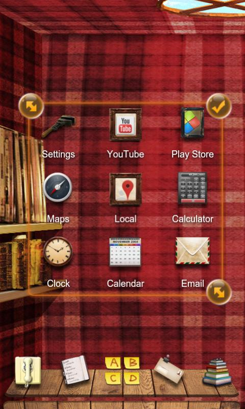 ZEngland Next Launcher Theme - screenshot